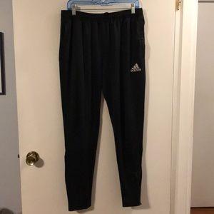 Adidas climalite black athletic pants